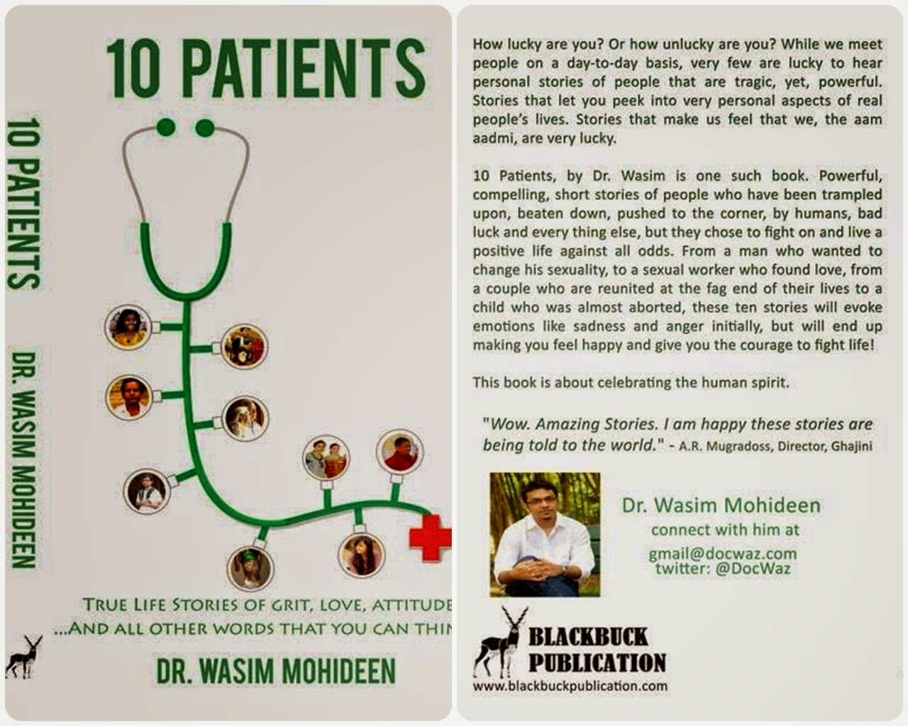 Book Review: 10 Patients by Wasim Mohideen