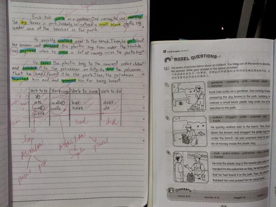 Rahsia Pandai Bahasa Inggeris Nak Pandai Tulis Esei Bi Gunalah Teknik Salin Karangan Bervisi