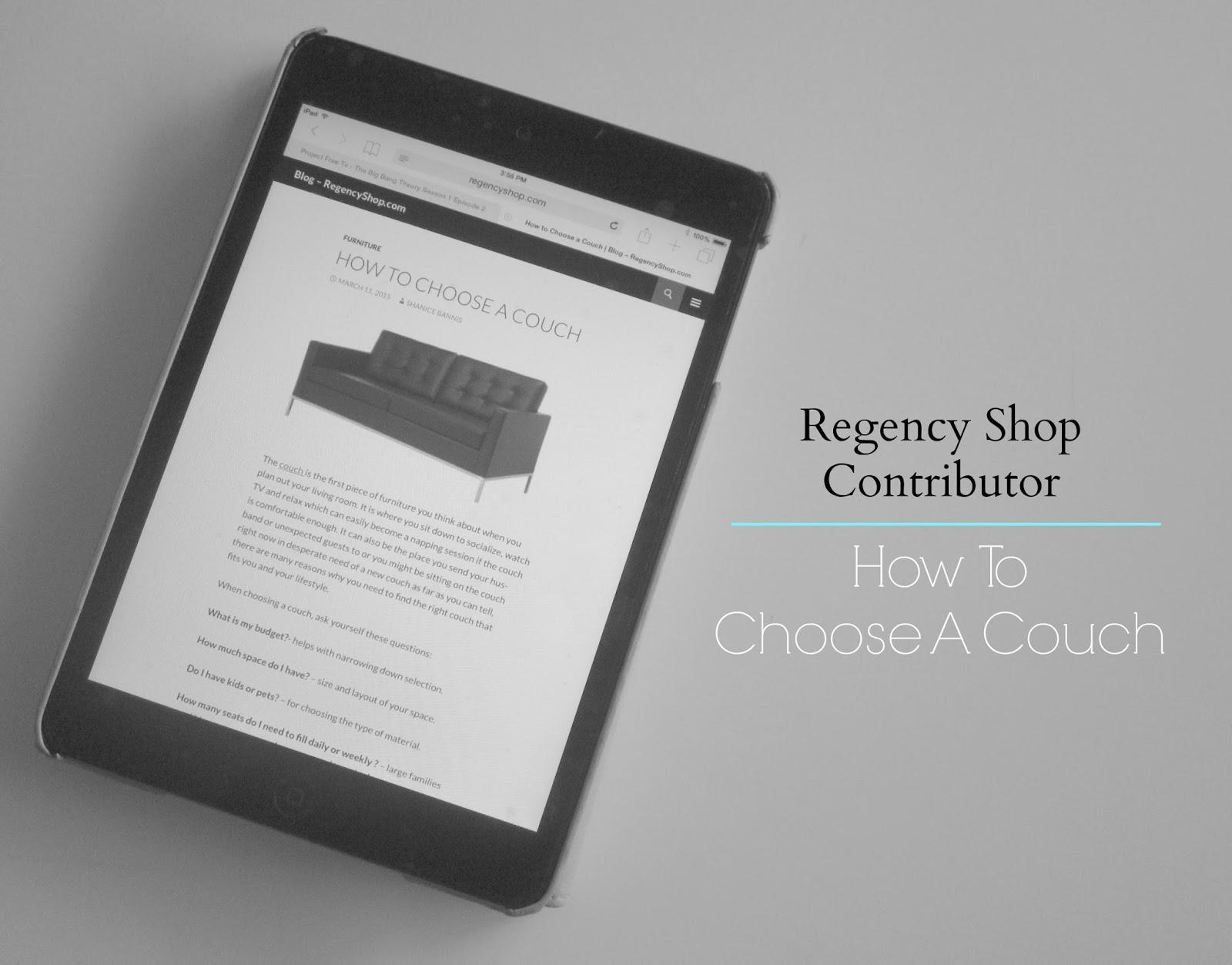 regency shop contributor post