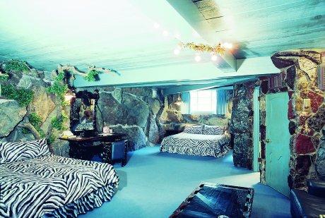 Zebra print bedroom decor home decoration for Blue zebra print bedroom ideas