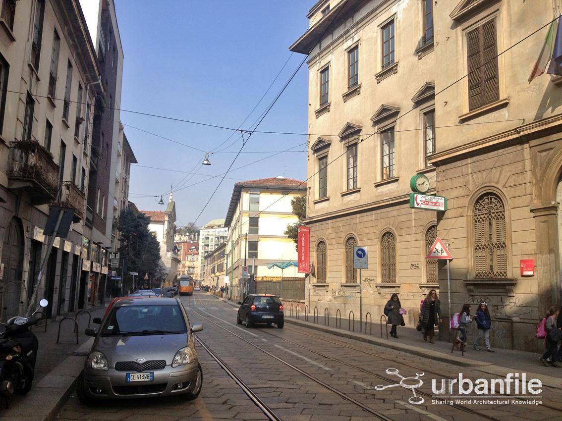 Urbanfile milano c 39 del nuovo in corso di porta for Corso di grafica milano