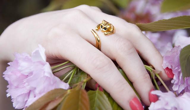 ring, cat, cute, jewellery