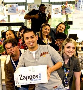 Funcionários da Zappos