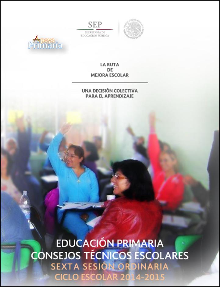 Guía de la 6ta Sesión del CTE PRIMARIA