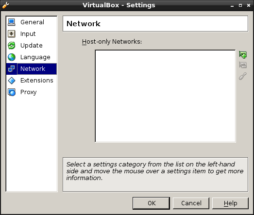 how to set up host only adapter virtualbox