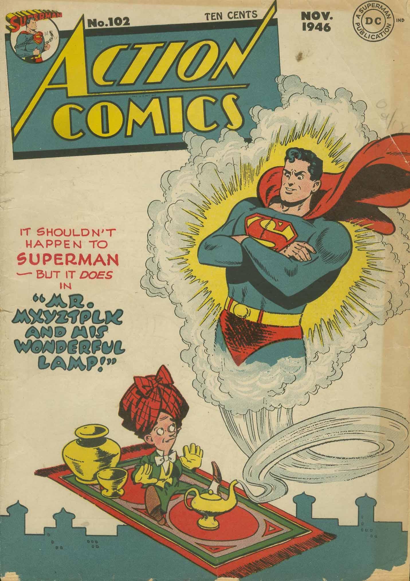 Action Comics (1938) 102 Page 1