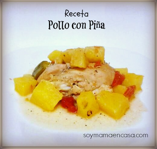receta con pollo easy recipe