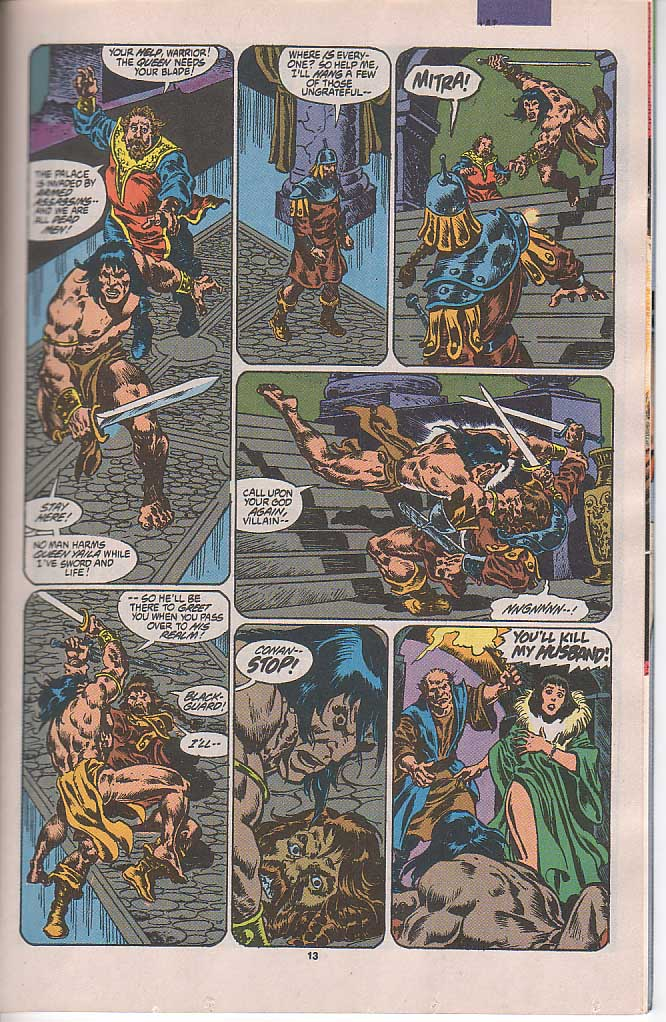 Conan the Barbarian (1970) Issue #250 #262 - English 11