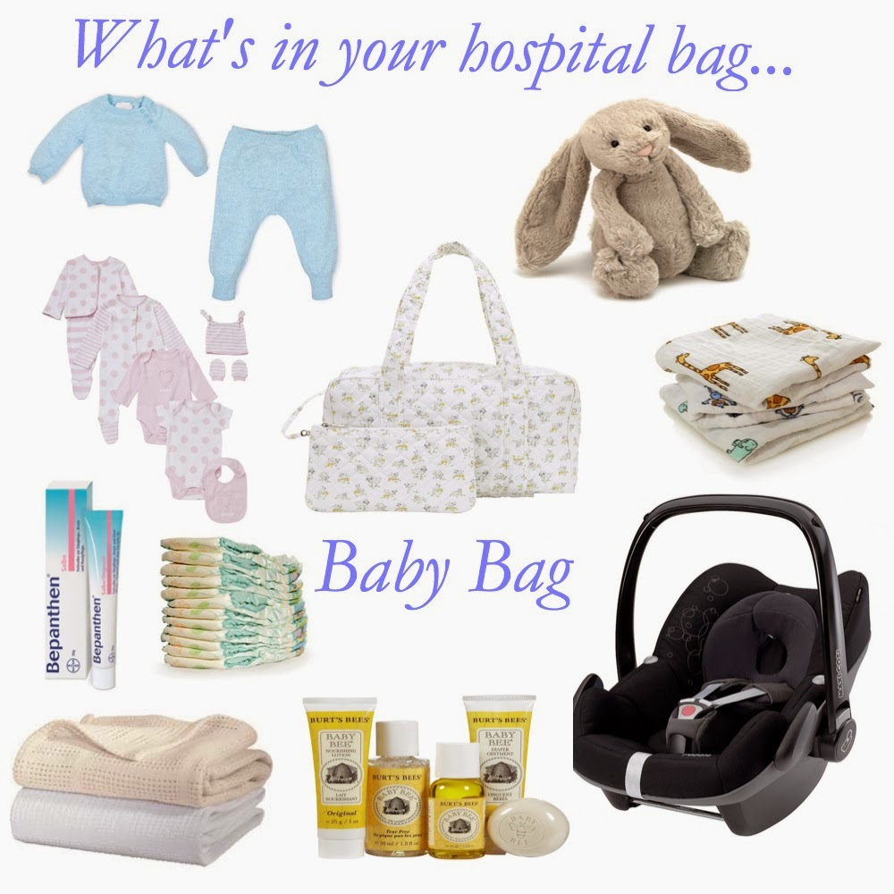 Mamasvib V I Baby Whats Inside Your Hospital Bags Yes