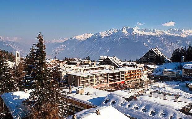 تعرف على أجمل منتجع للتزلج في سويسرا