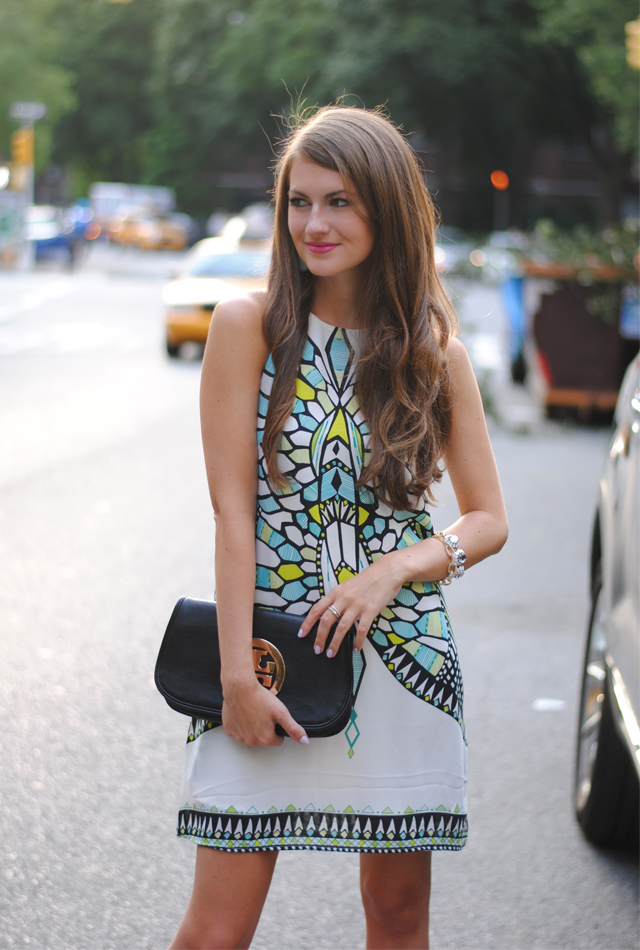 Love this Aztec print dress!