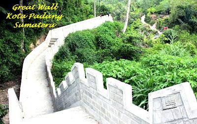 GREAT WALL Tembok Besar Kota Padang