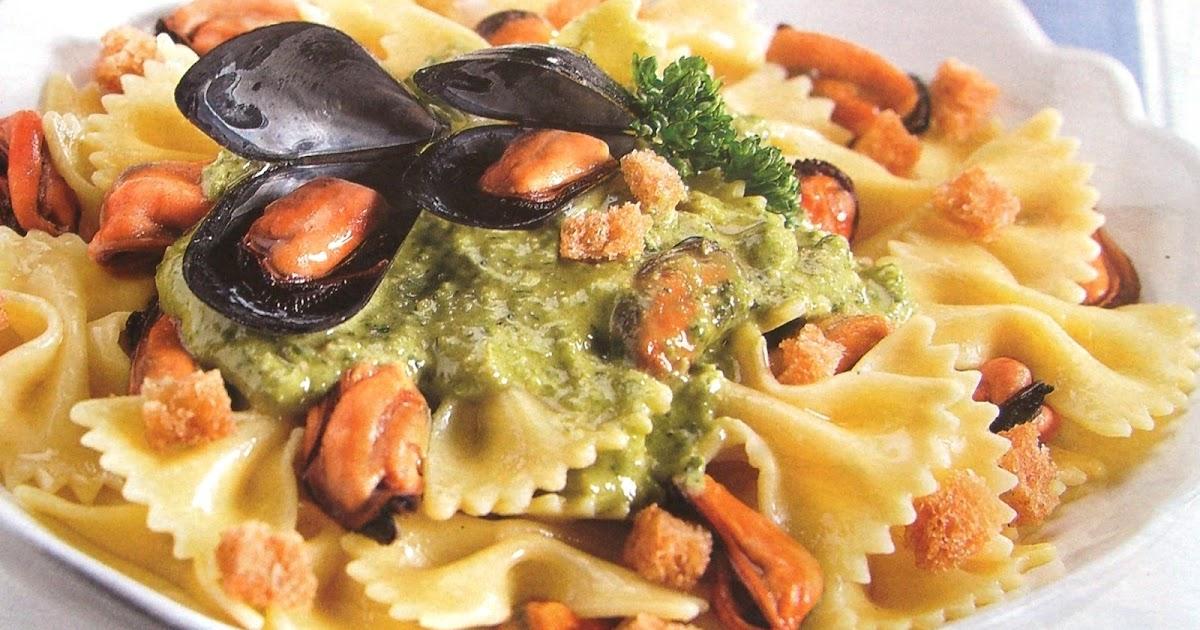 Cucinare assaporare bere e dintorni pasta cozze e pesto for Cuocere v cucinare