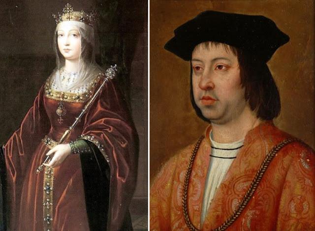 Fernando II-Aragão-Isabel I-Castela