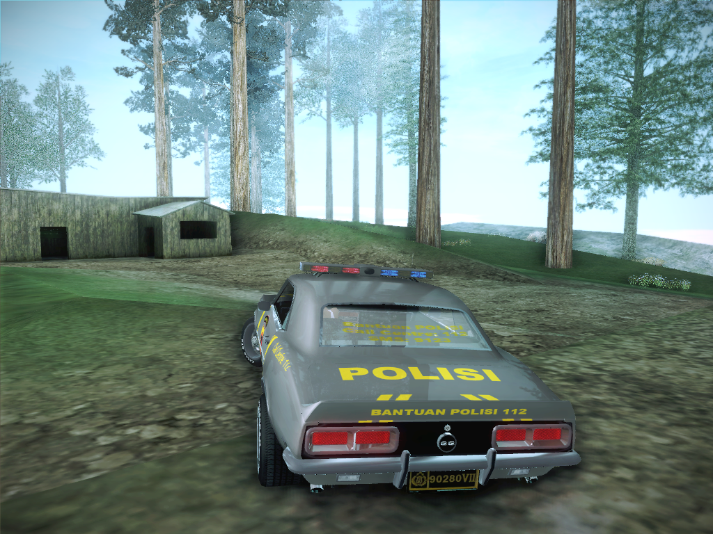 Camaro Rs Ss 1968 Indonesian County Police Chevrolet Gta Free Mods Dub Edition Passwordgtanuansaindonesiabyhilmi