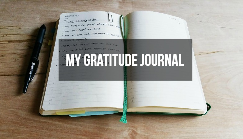 my day begins and ends with gratitude a gratitude journal
