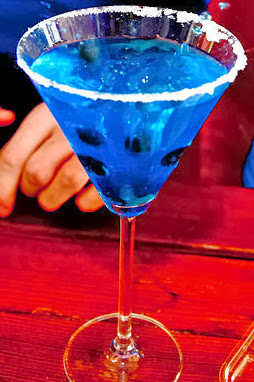 Blue Mermaid Martini Cocktail Recipe
