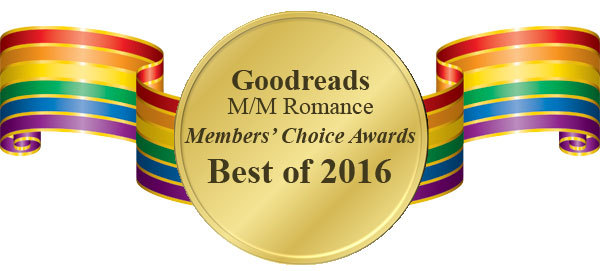 Tharros & Christy receive 4 nominations in the Goodreads M/M Romance Group Members Choice Awards!