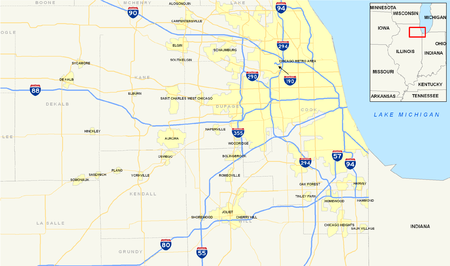 Tolls In Chicago Map