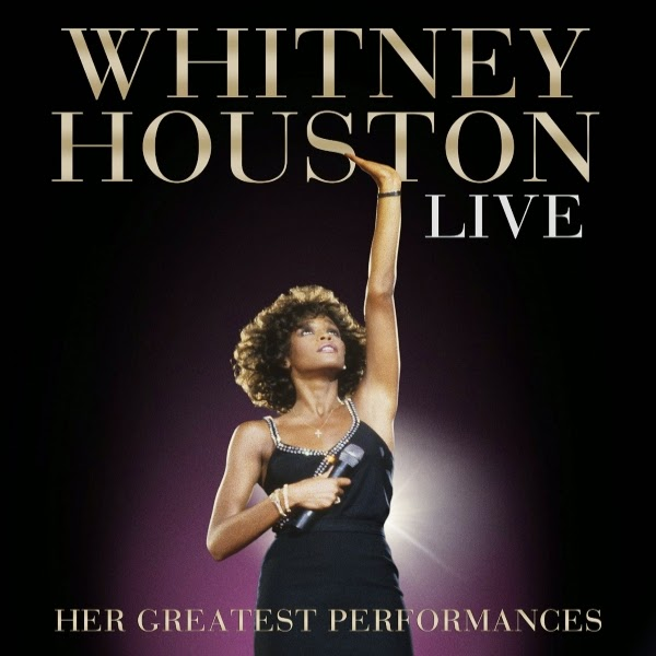 Whitney Houston Live: Her greatest performances, album cover