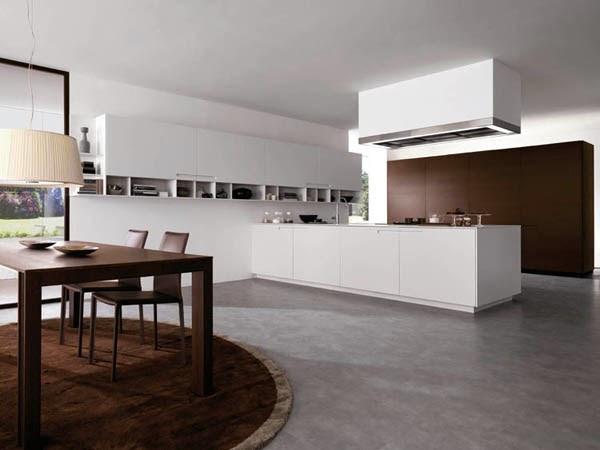 desain dapur gaya moderen