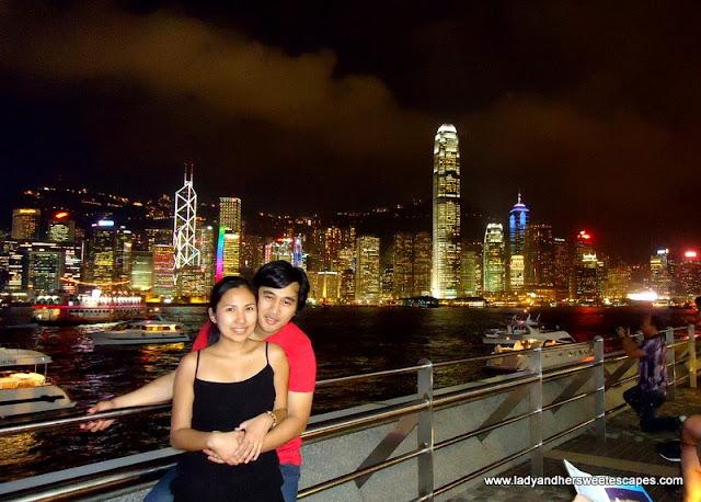 Lady and Ed in Hong Kong