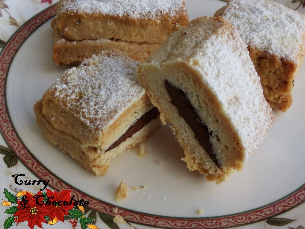 Hojaldrinas tradicionales y rellenas de Nutella