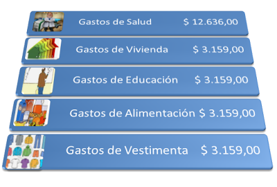 anexo gastos personales 2012 2013