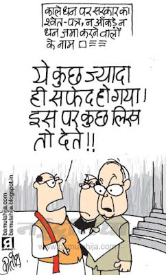 pranab mukharjee cartoon, pranab mukherjee cartoon, congress cartoon, black money cartoon, indian political cartoon