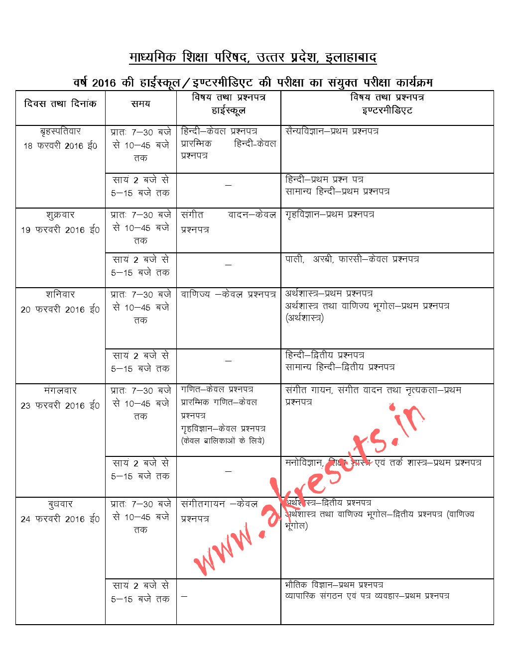 Up board exam 2015 download