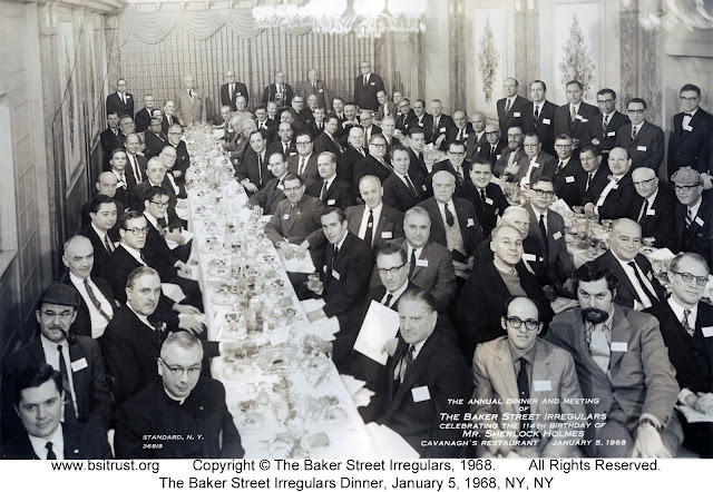 The 1968 BSI Dinner group photo