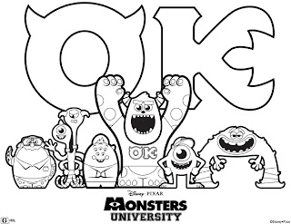 Monsters University, monsters inc, monster inc
