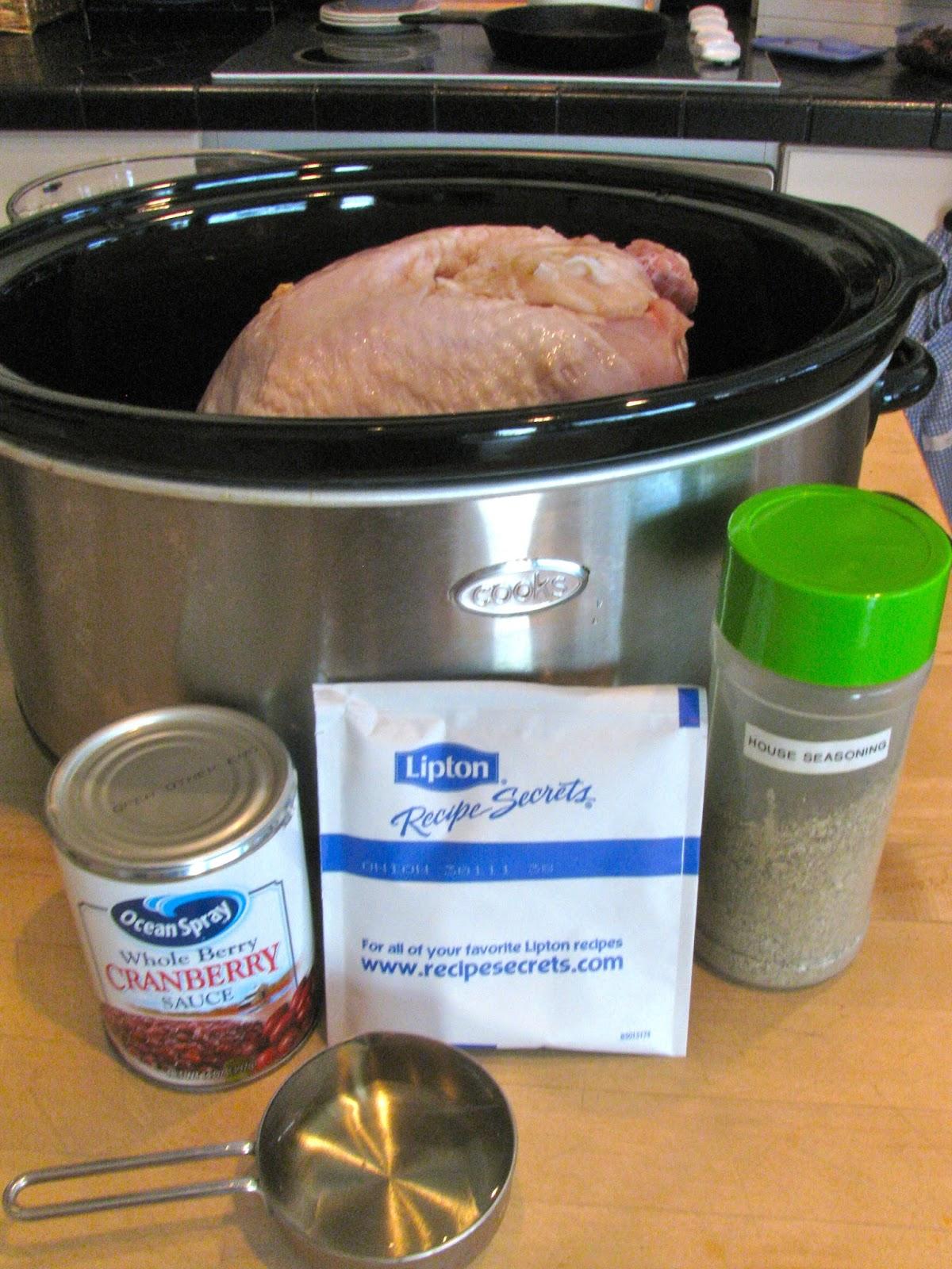 Surgery turkey breast crock pot recipes