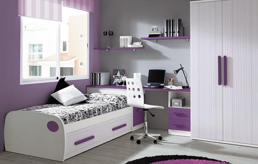 Dise os de dormitorios para adolescentes con mucho color - Ikea cama juvenil ...