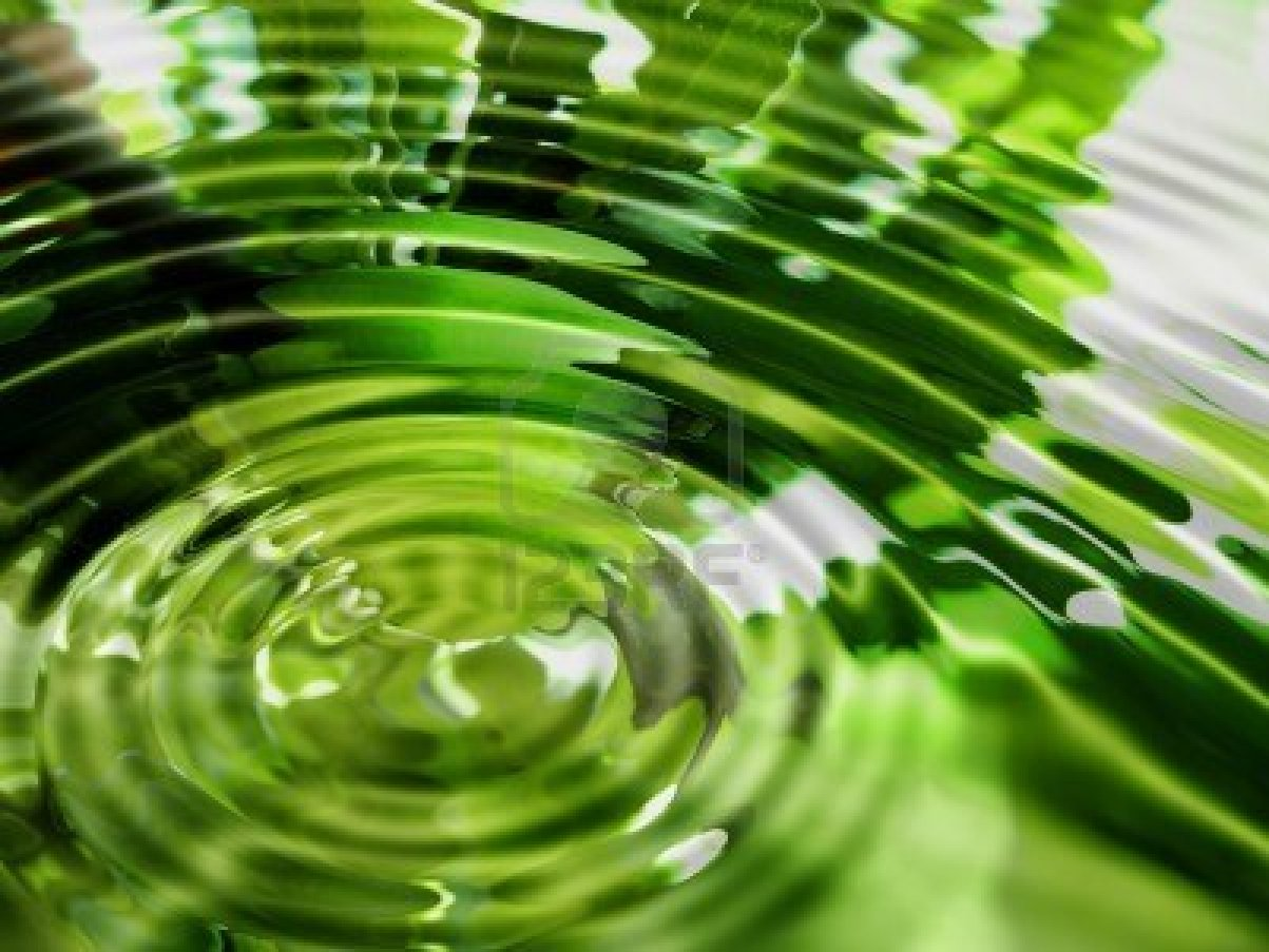 green water background - Mobile wallpapers