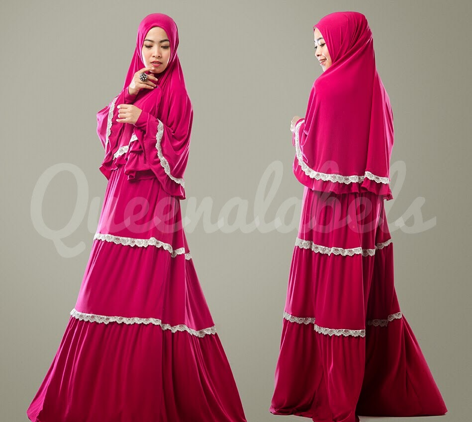 Busana muslim zoya terbaru 2013 pearl dress by queenalabels Baju gamis zoya