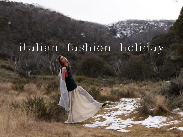 italian fashion holiday