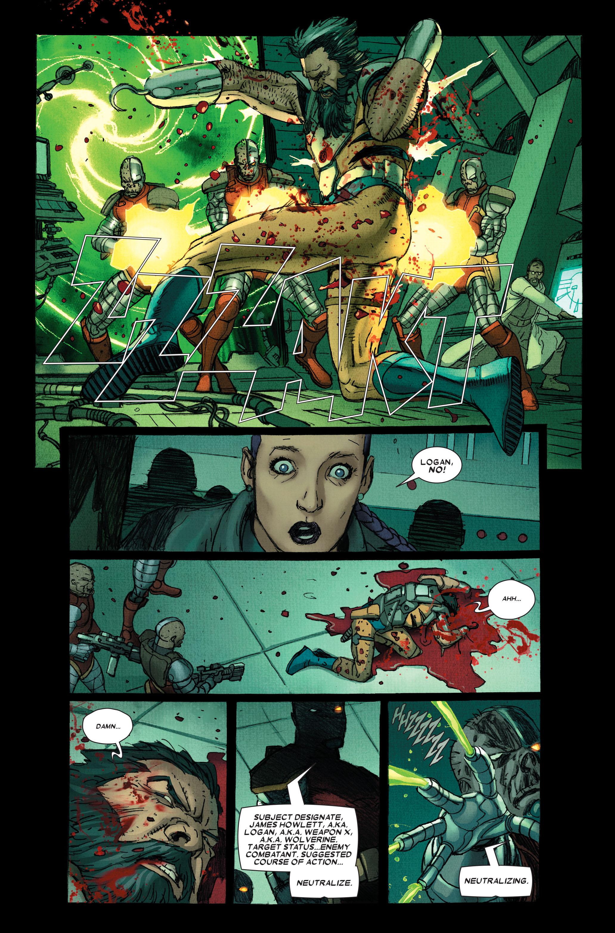 Wolverine: Weapon X #12 #5 - English 22