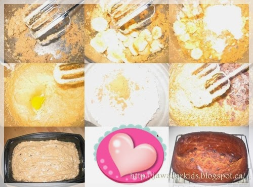 préparation du cake