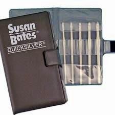Susan Bates Quicksilver Crochet Hook Set