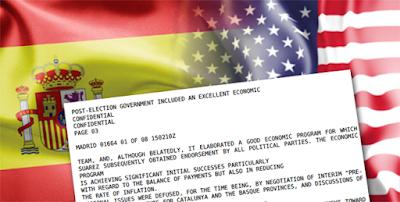 Un documento secreto revela los objetivos que tenía EE.UU para España en la Transición
