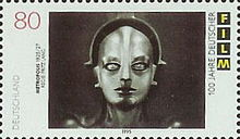 «Stamp Germany 1995 80Pf-Briefmarkenblock 100 Jahre Film» de Stamp_Germany_1995_Briefmarkenblock_10