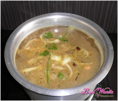 Resepi Bihun Sup Daging Herba Utara. Bihun Sup Utara Sedap. Bihun Sup Kedah Perlis Penang. Resepi dan Cara Buat Bihun Sup Herba Mudah.