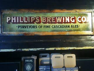 Phillips Brewing Company Sign Victoria British Columbia North America traditional signage dobell designs