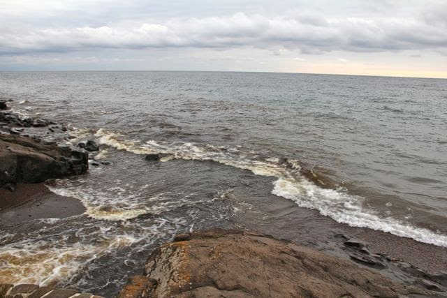 Lake Superior and tributary