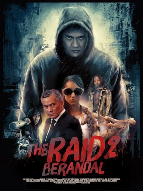 The Raid 2:Berandal (2014) BluRay 720p Full Movie + Subtitle Indonesia