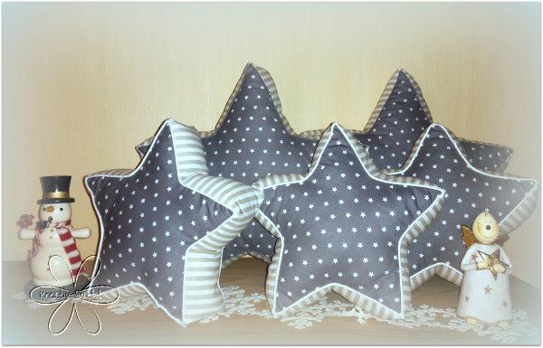 Sterne Nähen : Kreativ - Sucht ♥: Sternenkissen