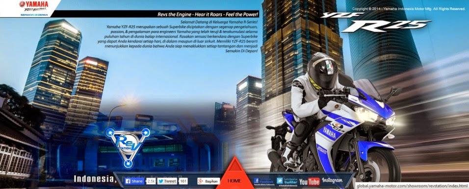 Yamaha R15 & Yamaha R25 Motor Sport Racing dan Kencang