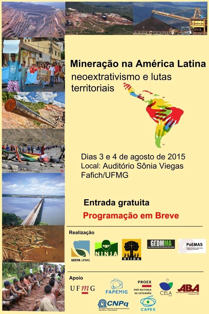 Seminário Mineração na América Latina< neoextrativismo e lutas territoriais