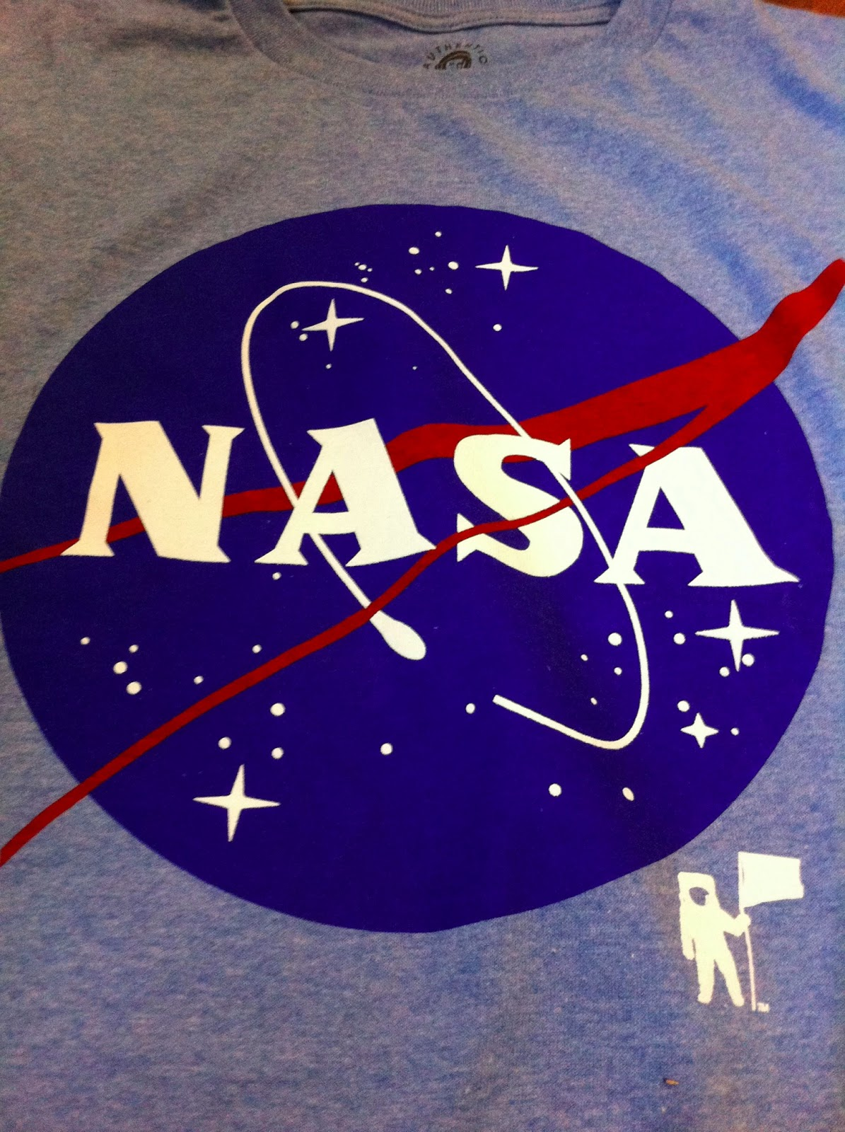 CaseyMOORE: My NASA T-Shirt From Wal Mart